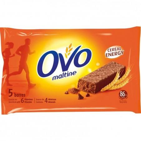 Barre enrobée OVOMALTINE chocolat 5x20g