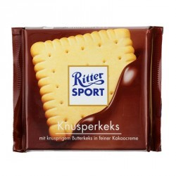Chocolat sport biscuit au beurre 100g