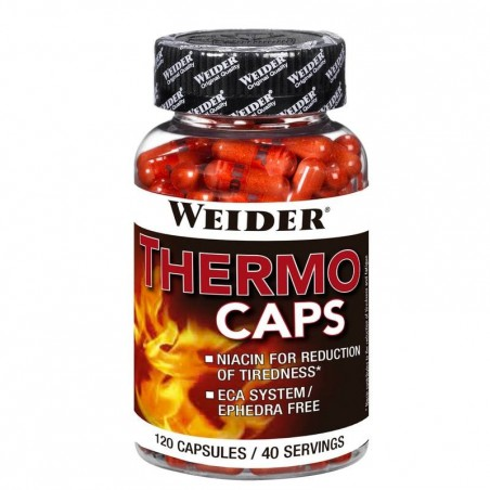 Complément alimentaire WEIDER BODY SHAPER THERMO CAPS 120 capsules