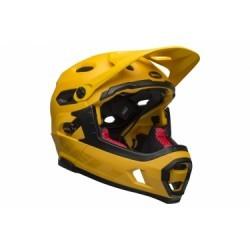 Casque avec Mentonnière Amovible Bell Super DH Mips Jaune/Noir 2019