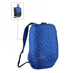 Petit portage marche quotidienne sac à dos pliable Pocket Bag flèche bleu