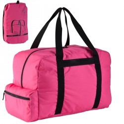 Sac repliable Duffle 55L rose