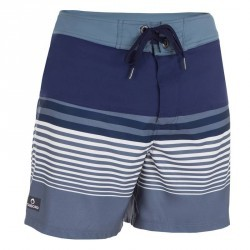 Boardshort court guethary waves gris