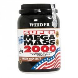 WEIDER SUPER MEGA MASS 2000 chocolat 1,5kg