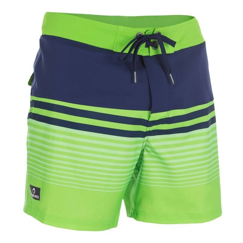 Boardshort court Hendaia waves vert
