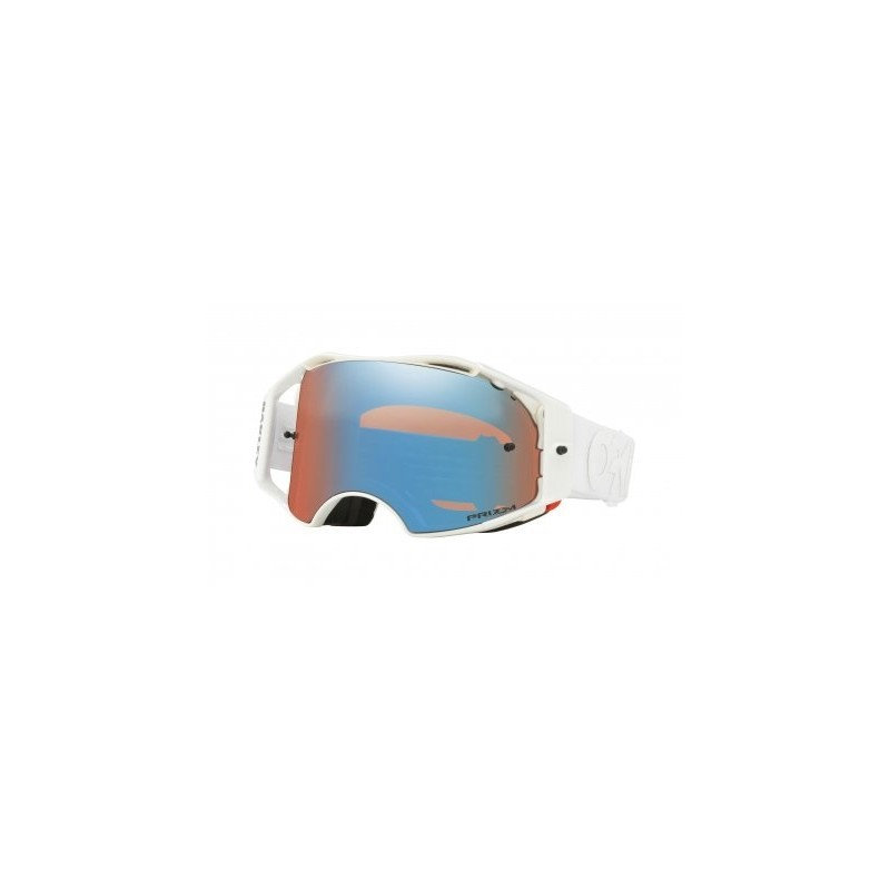 1ddd7e5a0a0 Masque Oakley Airbrake MX   Factory Pilot Whiteout   Prizm Mx Sapphire   Ref.  OO7046