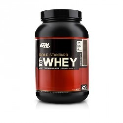 PROTEINE WHEY GOLD OPTIMUM NUTRITION chocolat 908gr