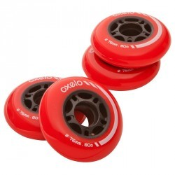 4 roues roller hockey 76MM 80A