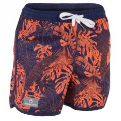 Boardshort court garçon Bidarte Forest Red