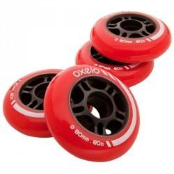 4 roues de roller hockey 80MM 80A