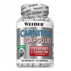 L carnitine WEIDER BODY SHAPER 100 capsules
