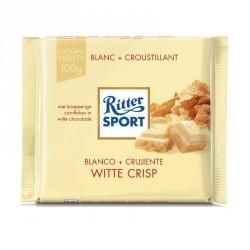 Chocolat blanc CRISP cornflakes 100g