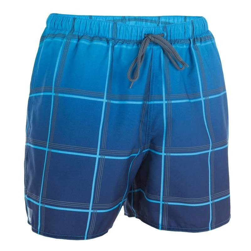 Boardshort court Hendaia quad bleu