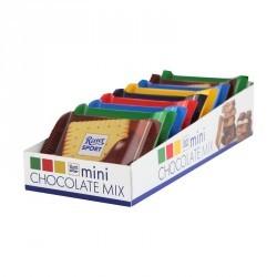 Chocolat sport LES MINIS mix de chocolats 16,6g x9 150g