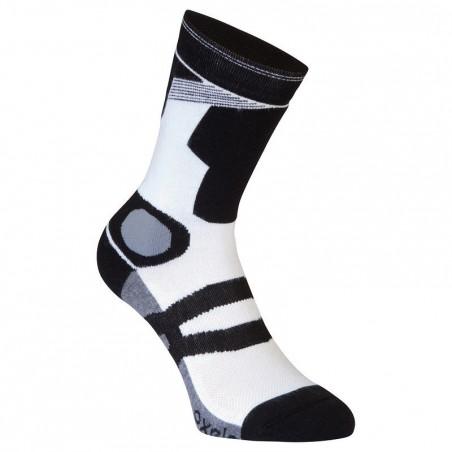 Chaussettes roller homme FIT LITE blanches noires