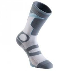 Chaussettes roller femme FIT LITE grises bleues