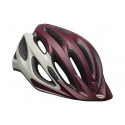 Casque Bell Coast Blanc Bordeaux