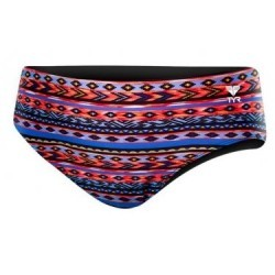 Maillot de Bain Tyr Santa Fe All Over Racer Noir Multi-couleur