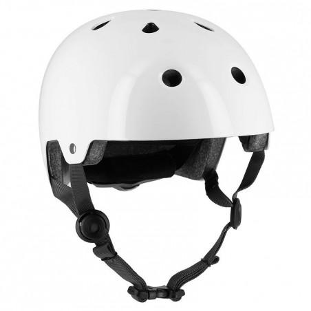 Casque roller skate trottinette vélo PLAY 5 blanc