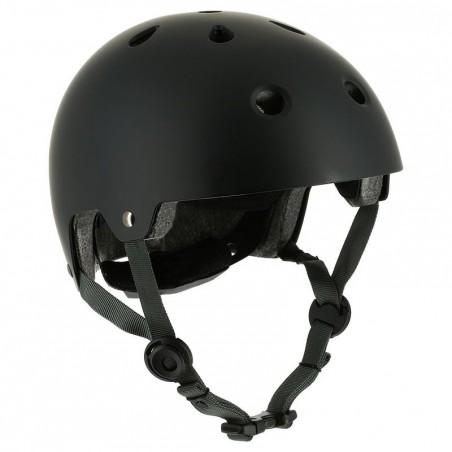 Casque roller skateboard trottinette vélo PLAY 5 noir