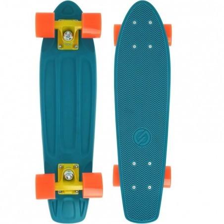 Cruiser Skateboard BIG YAMBA Bleu Corail