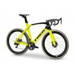 Vélo de Route Trek Madone SLR 9 Disc Shimano Dura Ace Di2 11V 2019 Jaune / Noir