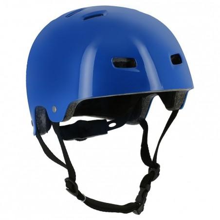 Casque roller skateboard trottinette vélo MF 5 bleu