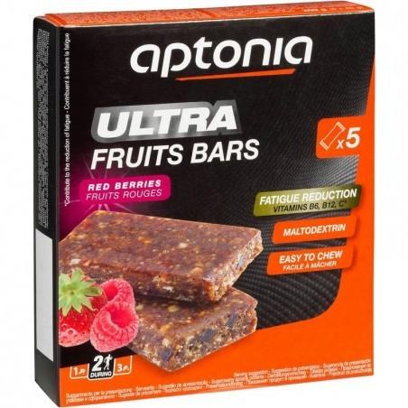 Barre énergétique ULTRA BARS fruits rouges 5x40g