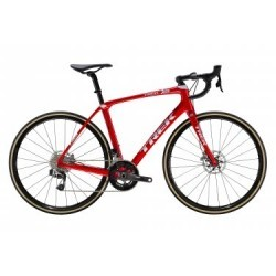 Vélo de Route Trek Domane SLR 9 Disc eTap Sram Red eTap HRD 2019 Rouge / Blanc