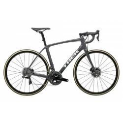 Vélo de Route Trek Domane SLR 9 Disc Shimano Dura Ace Di2 11V 2019 Gris / Noir