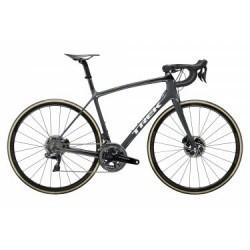 Vélo de Route Trek Emonda SLR 9 Disc Shimano Dura Ace Di2 11V 2019 Gris / Noir