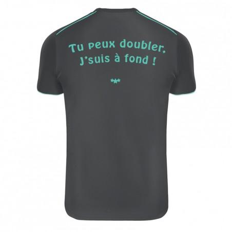 """Tee-Shirt technique respirant """"Tu peux doubler, j'suis à fond !"""""""
