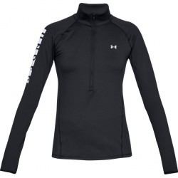 TEE SHIRT Fitness femme UNDER ARMOUR UA CG ARMOUR GRAPHIC 1/2 ZIP
