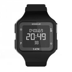 Montre digitale sport homme W500+ M SWIP timer noire