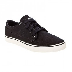 Chaussures basses skateboard - longboard VULCA CANVAS L noires