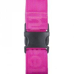 Sangle bagage rose fluo