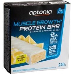 Barre de protéines MUSCLE GROWTH citron cheesecake 4X60g