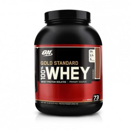 PROTEINE WHEY GOLD STANDARD OPTIMUM NUTRITION Chocolat 2,2kg