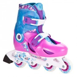 roller enfant PLAY 5 Girl CN rose violet bleu