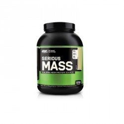 SERIOUS MASS optimum nutrition vanille 2,7Kg