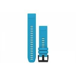 Bracelet Silicone Garmin QuickFit 22 mm Bleu