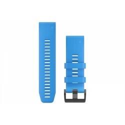 Bracelet Silicone Garmin QuickFit 26 mm Bleu Cyan