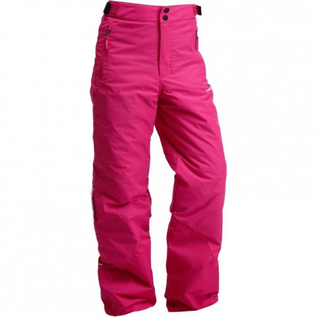 PANTALON SKI FILLE SLIDE 100 PULL'NFIT ROSE