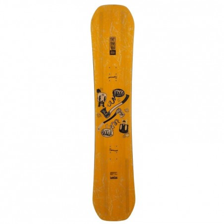 Snowboard junior End Zone 300 Youth jaune
