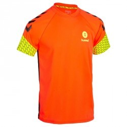Maillot de handball hummel homme orange jaune