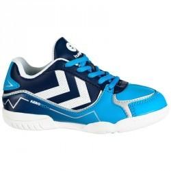 Chaussures de handball aerotech garçon bleu blanc