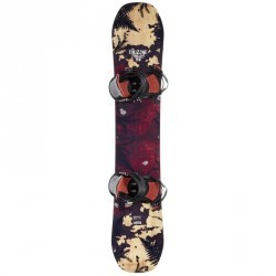 Pack snowboard Freestyle all mountain homme / femme End Zone 500 Park&Ride rouge