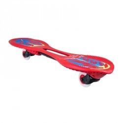 Oxeloboard BEGINNER FLASH rouge avec roues lumineuses
