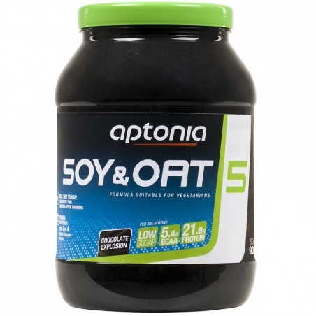 PROTEINE SOY & OAT 5 chocolat 900g