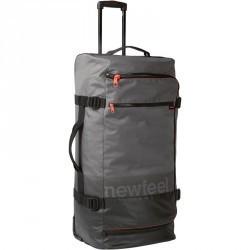 Valise à roulettes TR 120 90L gris / corail